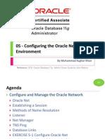 OCA 05 - Configuring the Oracle Network Environment