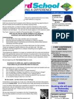 Salford School Newsletter 1.02.13