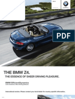 BMW Z4 Catalogue