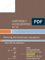 03a - Uniformly Accelerated Motion in 1D.pptx