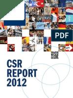 Corio CSR Report 2012