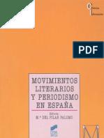 MANUAL Movimientos Literarios y Periodismo en Espana