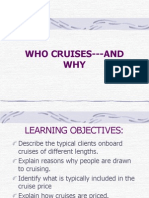Who Cruises and Why