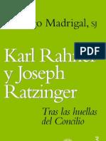 Karl Rahner y J Ratzinger-Tras Las Huellas Del Concilio