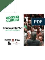 Educa Amb l Art Dossier Sessi 1 M Sica
