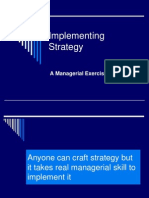 Implementing Strategy