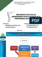 Maestro PPTRéalisation d'un outil de dashboarding pour le pilotage de la performance des entreprises