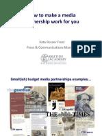 Partnerships BritAc & MoL Kate Rosser Frost