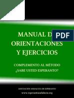 Manual de orientaciones y ejercicios
