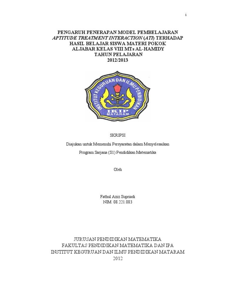 Skripsi Lengkap Aziz Pdf