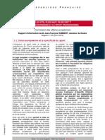 Note de synthèse - UE et Sport professionnel