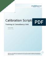 Calibration Scripts