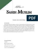 En Sahih Muslim