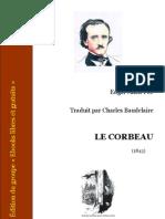 Edgarpoe Le Corbeau Baudelaire