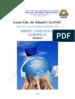 Drept Comunitar European_an 3 Sem 1