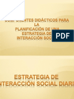 Interaccion Social Diaria 2011