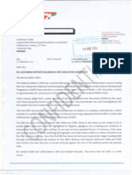 TNA Complaint to IEBC Against Transcend Media and CORD/ODM