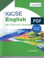 A Digger IGCSE English