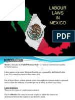 MEXICAN Labour Laws