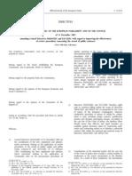 Directiva UE 66/2007