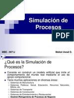 Clase Simulacion de Procesos