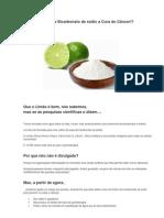 Limão e Bicarbonato a cura do cançer.docx