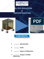 Shelter Isolation & Water Test