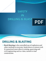 Ch.4 Safety in Drilling & Blasting