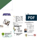 Leaflet Penyuluhan Hipertensi
