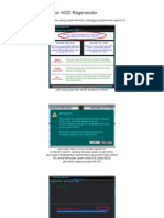 Cara Menggunakan HDD Regenerator