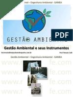 Ecologia  - Gestão Ambiental e seus Instrumentos