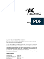 Instructor Training Handbook Online Version Non Booklet