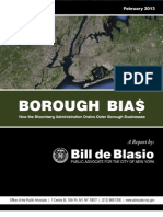 BOROUGH BIAS
