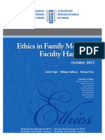 ethics hand book faculty of medicine