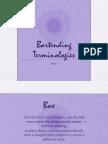 Bartending Terminologies