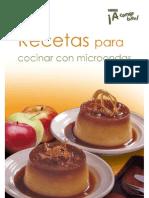 recetas microondas
