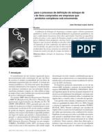 Uma proposta para o processo de definição do estoque de segurança de itens comprados em empresas que fabricam produtos complexos sob encomenda