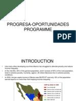 Progresa Oportunidades Programme