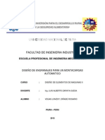 DISEÑO DE ENGRANAJES PARA UN MONTACARGAS AUTOMATICO