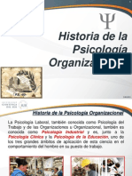 Historia de La Psicologia Organizacional1