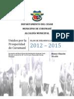 Plan de Desarroll 2012-2015 Valledupar