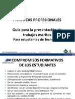 GUÍA PARA LA PRESENTACIÓN DE TRABAJOS ESCRITOS 02-2011.ppt