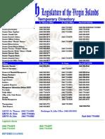 DIRECTORY VI Legislature (30th Legislature)
