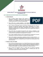 AgendaMexico Propuestas Seguimiento FM2011
