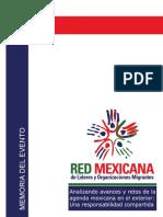 Memoria_Analizando Avances y Retos de La Agenda Mexicana en El Exterior_...