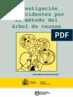 Investigación de accidentes por el método del árbol de causas