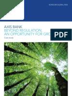 Axis Bank - Case Study