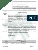 Ejemplo Programa de Formación Complementaria de JRE 2013