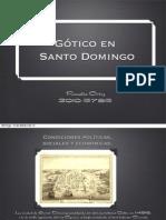 Gótico en Santo Domingo