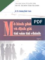 Mô hình phân tích và định giá tài sản tài chính _tập 2
